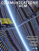 CACM Cover August 2012